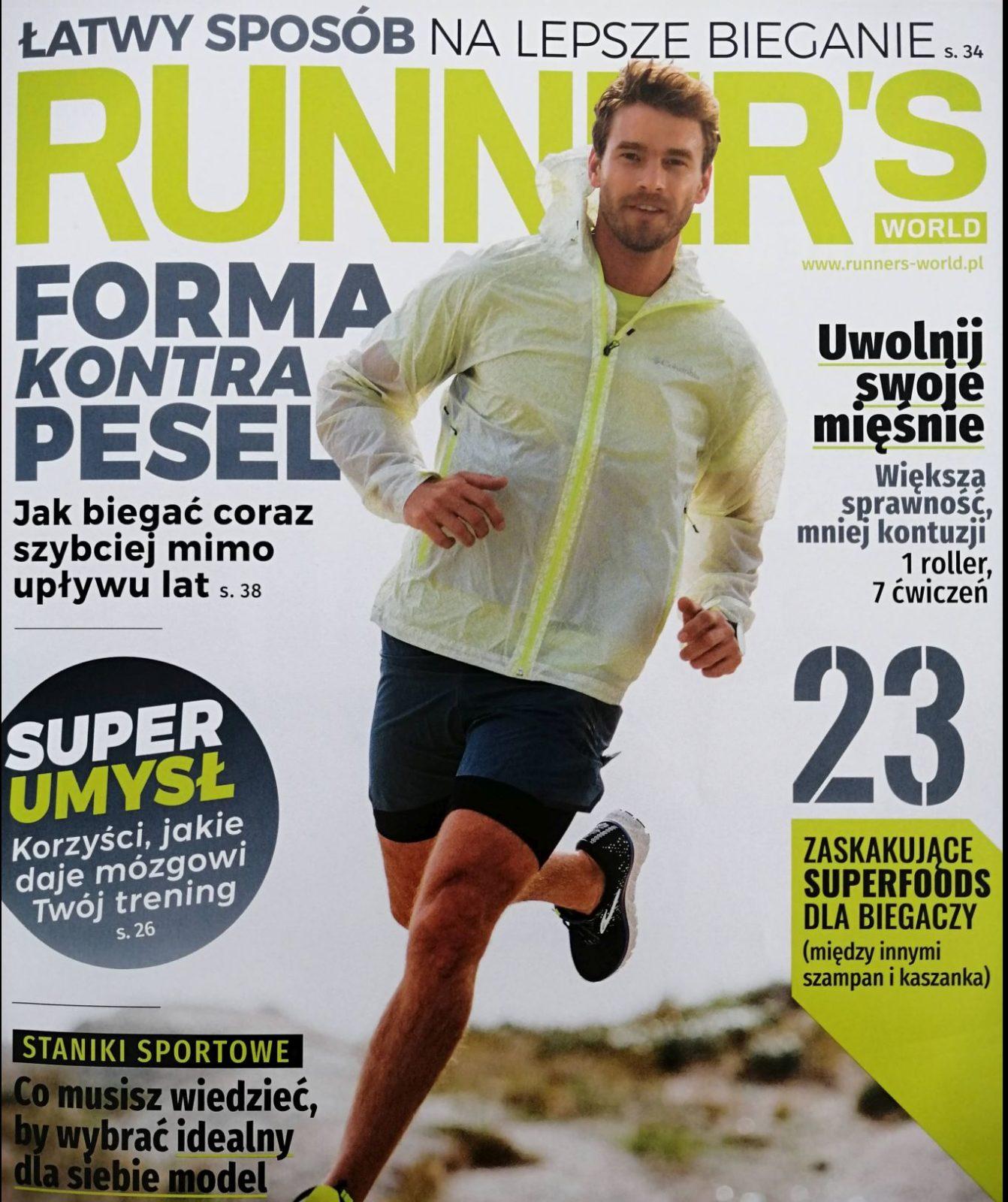 Okładka Runner's World Polska numer 111